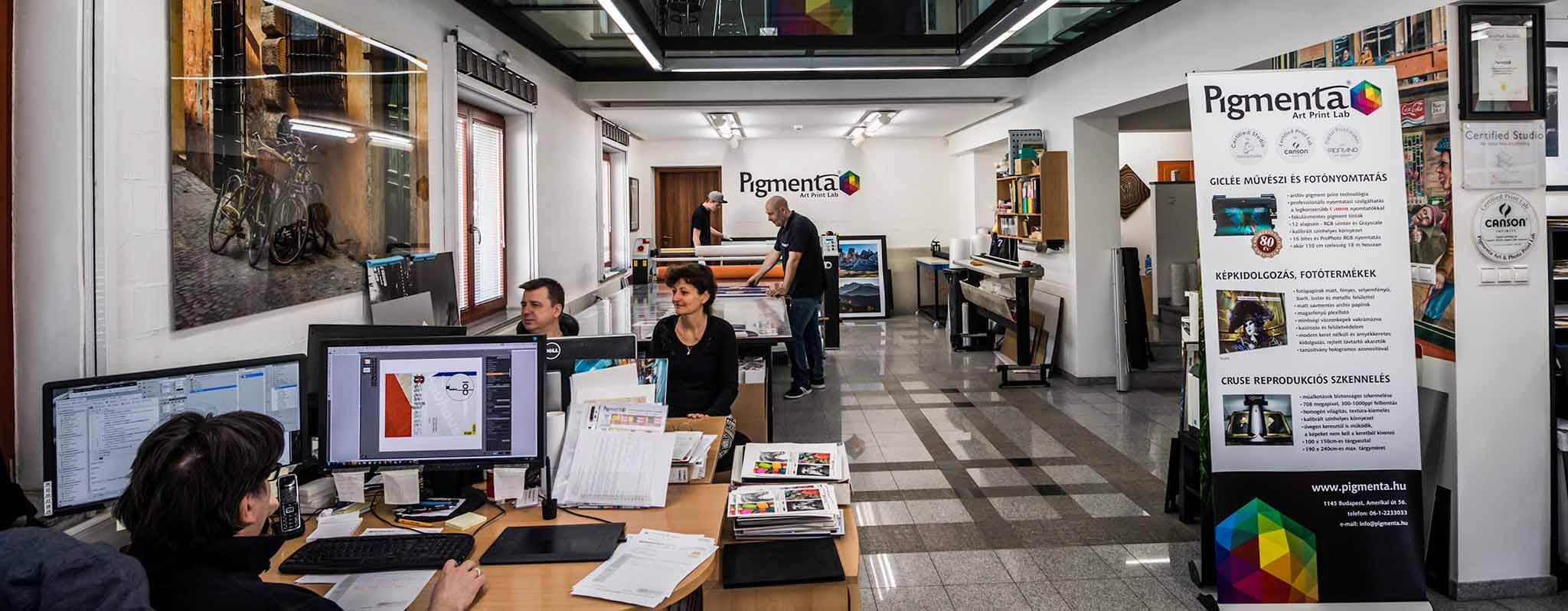 Giclée nyomtatás | fotónyomtatás | művészi nyomtatás a Pigmenta Stúdióban