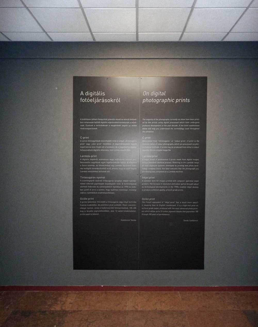 Giclée print a C-print és a Lambda print fotótechnika